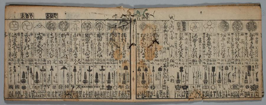 Figure 8. Kaihō ryaku bukan printed in 1823. Digital Collection of International Institute for Digital Humanities.